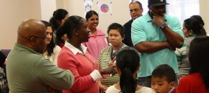 Parents share thoughts at Vision and Voice